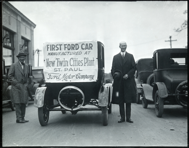 Ford's first car (MNHS 1925)