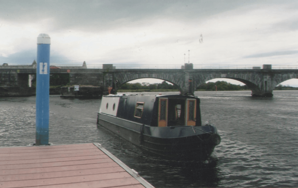 A small working bank on the dock, photo by Michael Ryan