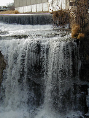 [Photo: The Vermillion Falls at Hastings.]