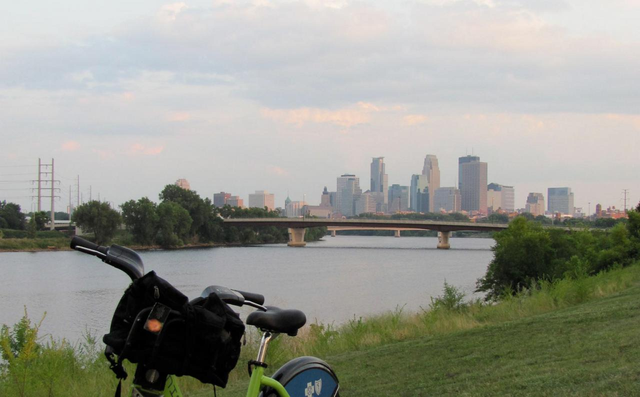 View from Ole Olson park in North Minneapolis. Let's make it prettier -- and better for our wildlife and waters.