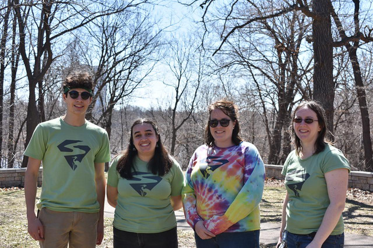 FMR staff and volunteers work at 2019 Earth Day Clean-up