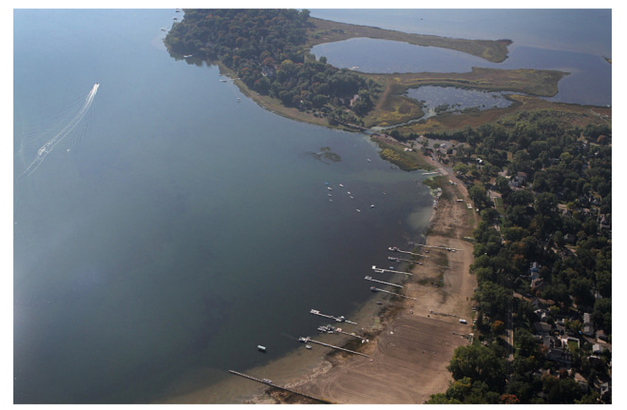 High-profile decline of water levels in White Bear Lake has been big new for the northeast metro area in recent years