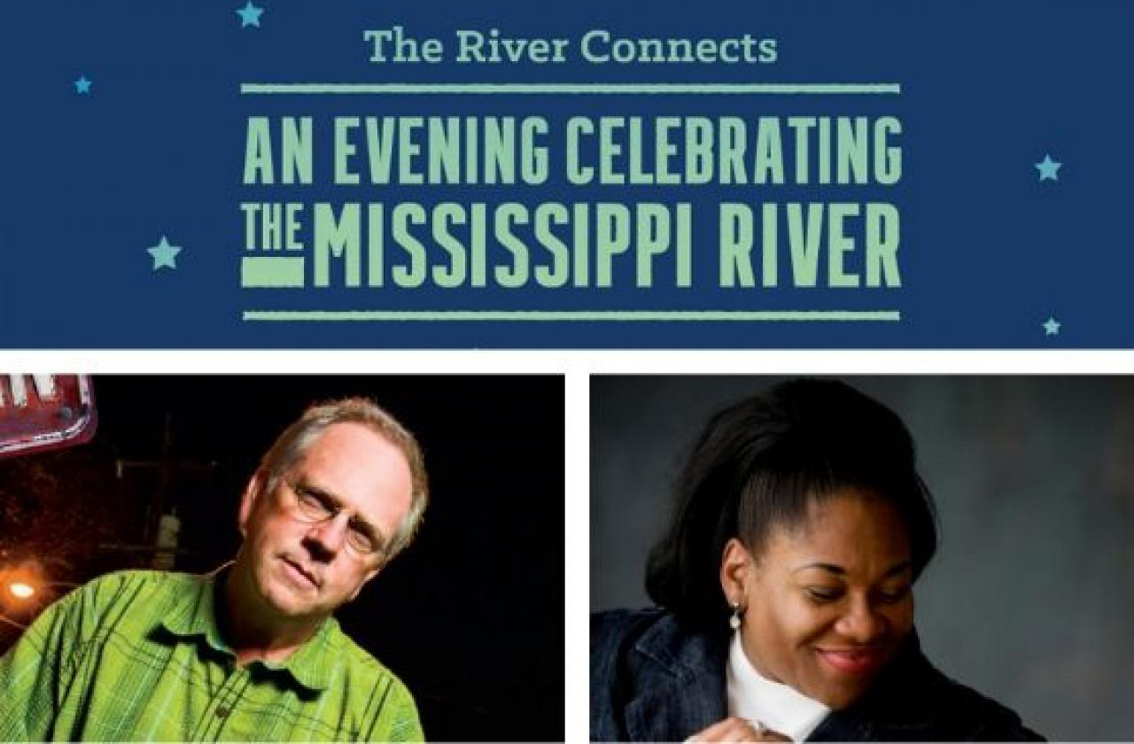An Evening Celebrating the Mississippi River featuring Nick Spitzer and Jearlyn Steel