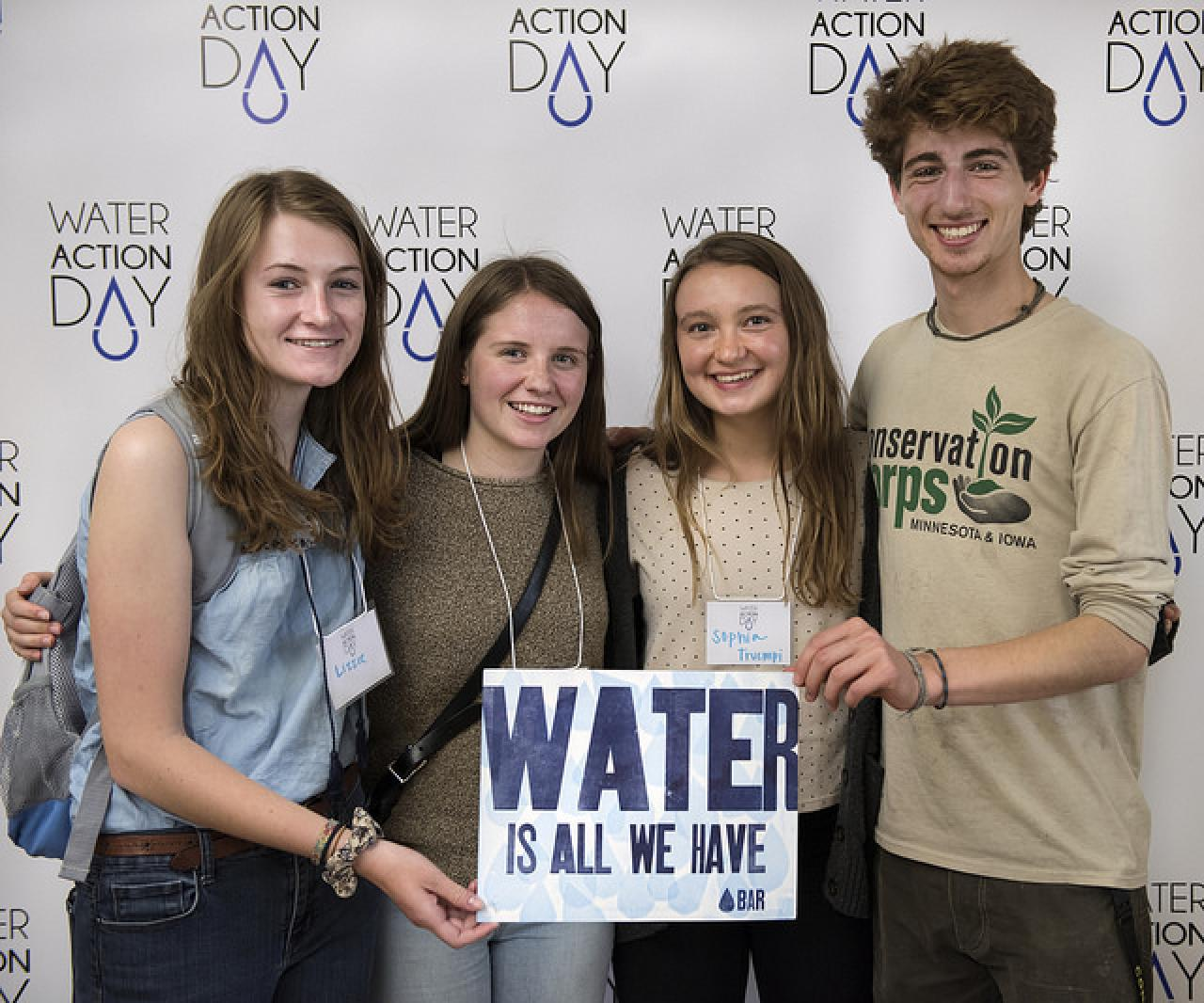 All generations deserve clean water